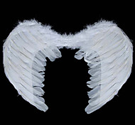 55*37cm Medium Lovely Angel Wings PVC Kids' Halloween Party Accessories