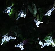 SOR-20-25 Solar Energy Lamp String Holiday Bell Courtyard Garden Decoration String Light 20LED 4.8M