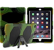 Diamond PU Protective Cover with Bracket for iPad 6
