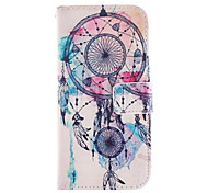 Dreamcatcher Pattern PU Leather Full Body Case with Stand and Capacitance Pen for iPhone 6