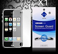 protector de pantalla de HD con polvo absorbente para iPhone 3 / 3GS (PC 1)