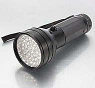 LS014 51 LED UV Ultra Violet Light LED Flashlight (Black 3xAA)