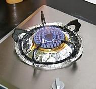 10 PCS Multifunction Oil-Proof High Temperature Aluminum Foil(Random Color)