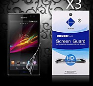 HD Screen Protector with Dust-Absorber for Sony Xperia Z3 Mini (3 PCS)