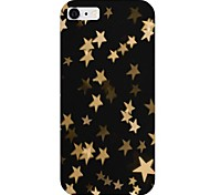 Gold Star Pattern Back Case for iPhone 6