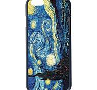 """doopootoo ™ Ван Гога картины картины тонкие пластиковые задняя крышка жесткий футляр для Iphone 6 4,7 """""""