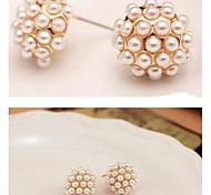moda orecchini di perle # 47-1