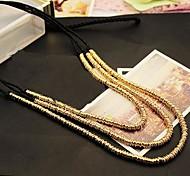Women's  Korean Long Sweater Necklace