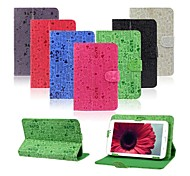 Cartoon lovely Style Flip Faux Leather Case with Stand for 7 Inch Universal Tablet PC (Assorted Colors)