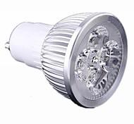 Spot LED Gradable Blanc Chaud / Blanc Froid GU10 4W 4 LED Haute Puissance 440 LM AC 100-240 V