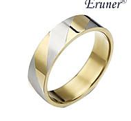Eruner®Titanium steel Golden Stripes Ring