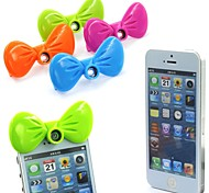 Cute Front Bow Tie Design Phone Lens Wide Angle Lens Quick-Change Mini Canera for iPhone 5/5S(Assorted Color)