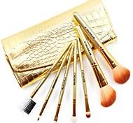 7 Makeup Brushes Set Nylon Face / Lip / Eye Others
