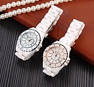 Women's Fashion High Imitation Ceramics Quality Quartz Wrist Watch (Assorted Colors)