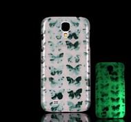 Butterfly Pattern Glow in the Dark Hard Case for Samsung Galaxy S4 Mini I9190