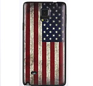 Doopootoo™ Fashion American Flag Pattern Plastic Back Hard Case Cover For Samsung Galaxy Note 4