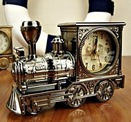 High Quality Alarm Clock,Cool locomotive Alarm Clock Fashion Personality Patent Home Furnishing Christmas New Year Gifts