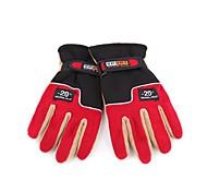 Full-finger Gloves / Winter Gloves Men's Keep Warm Ski & Snowboard / Cycling/Bike Red Wool