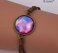 Eruner®Handmade Fashion Women's Pretty Galaxy Cosmic Moon Bracelets