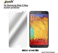 hohe Transparenz Spiegel LCD Screen Protector mit Reinigungstuch für Samsung-Galaxie Anmerkung3 neo