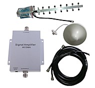 WCDMA 2100MHZ Cell Phone Signal Booster Amplifier Repeater Antenna Kit 500M²