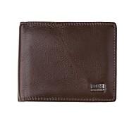 lm240uo Männer hochwertigen Horizontal-echtes Leder Geschäftsbrieftasche