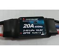 4pcs 20A ESC for Multirotor/quadcopter 2-4S Lipos Simonk Firmware