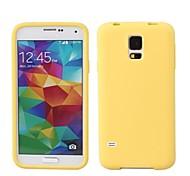 solide couleur boîtier de silicium étui souple pour Samsung Galaxy s5 / i9600 (couleurs assorties)