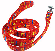 Dog Leashes Red Nylon