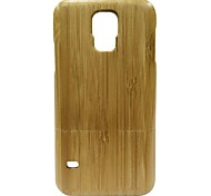 Kyuet Bamboo Case Natural Superior Bamboo Shell Cover Skin Cell Phone Case for Samsung Galaxy S5