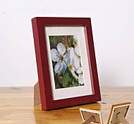 Personalized Framed Photo 7 inches Colourful Wooden Frame with Stand 1 Photo