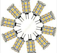 G4 2.5 W 27 SMD 5050 352 LM Warm White/Cool White Decorative Bi-pin Lights DC 12 V