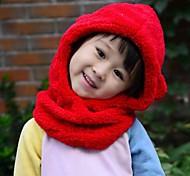 Children's Fashion Plush Thickening Sets Warm Hat
