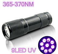 The Huntereyes 9LED UV Black Pet Urine Detection Flashlight