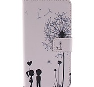 The Dandelion Lover Design PU Leather Full Body Case  for Sony Sony Xperia Z3