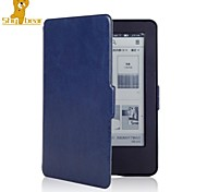 Shy Bear™Crazy Horse Leather Cover Case for Amazon New Kindle 2014 Touch Screen(Kindle 7th)