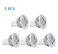 3W GU10 / E26/E27 LED Filament Bulbs MR16 1 200-250 lm Warm White / Cool White AC 85-265 V 5 pcs