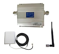 LCD 3G980 2100MHz Mobile Signal Repeater Booster with Panel Antenna Kit New