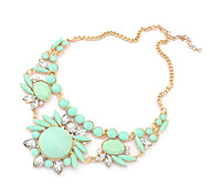 Fashion Modern Women's Stylish Crystal Necklace Statement Necklace for Women 2014