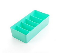 Rainbow Series Plastic Storage Boxes For Underwear  Bra Storage Box Underwear Storage Box Sn2161
