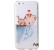 Cute Cartoon Pattern TPU Soft Case for iPhone 6