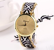 Women Big Circle Dial  National Hand Knitting Brand Luxury Lady Watch C&D-277 Cool Watches Unique Watches Fashion Watch