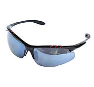 [Free Replacement Lenses] Anti-Fog Wrap PC Sports Sunglasses