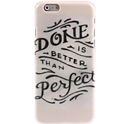Done Perfect Design Hard Case for iPhone 6 Plus
