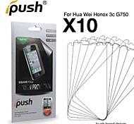 hohe Transparenz HD LCD-Schutzfolie für Huawei Ehre 3 x G750 (10 Stück)