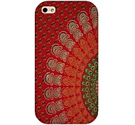 Red Totem Pattern Back Case for iphone 4/4s