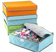 Коробки для хранения / Корзины для хранения Текстиль / Углеволокно сОсобенность является С крышкой , Для Бельё