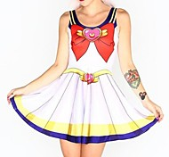 Sailor Moon Super S Dress Cosplay Costume One Size