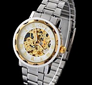MCE Men's Watch Mechanical Automatic Self-Winding Hollow Engraving