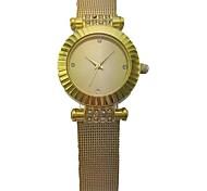 Women's Analog Alloy Case Round Dial Stainless Band Quartz Watch Women's Watch Fashion Watch Gift Watch